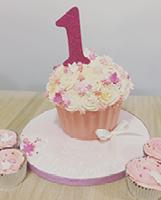 Celebration Cake - Giant Cupcake