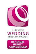 Highly Commended The Wedding Industry Awards 2017